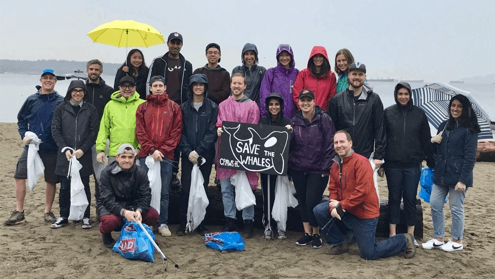 rise people cpaws beach cleanup