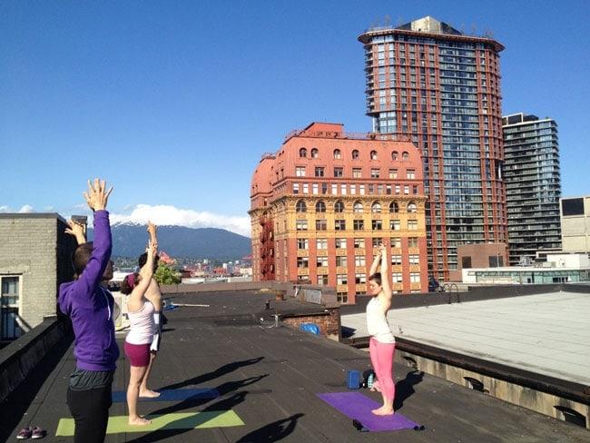 office yoga program