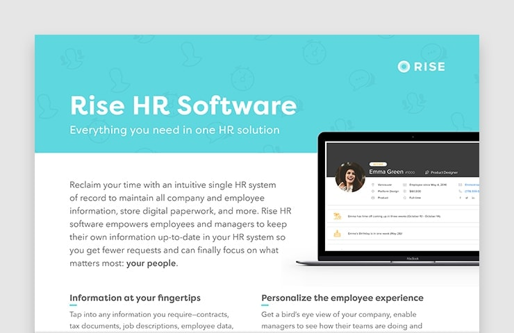 Rise HR Software
