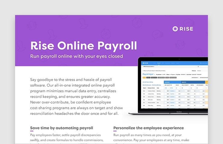 Rise Online Payroll