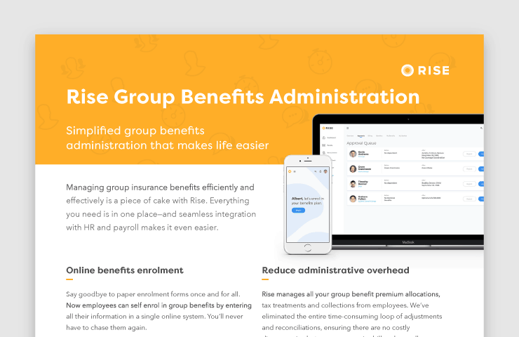 Rise Group Benefits Administration