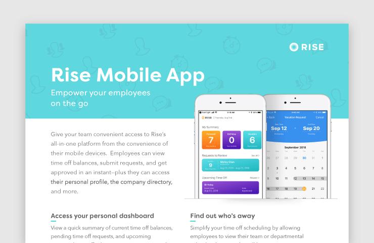 Rise Mobile App