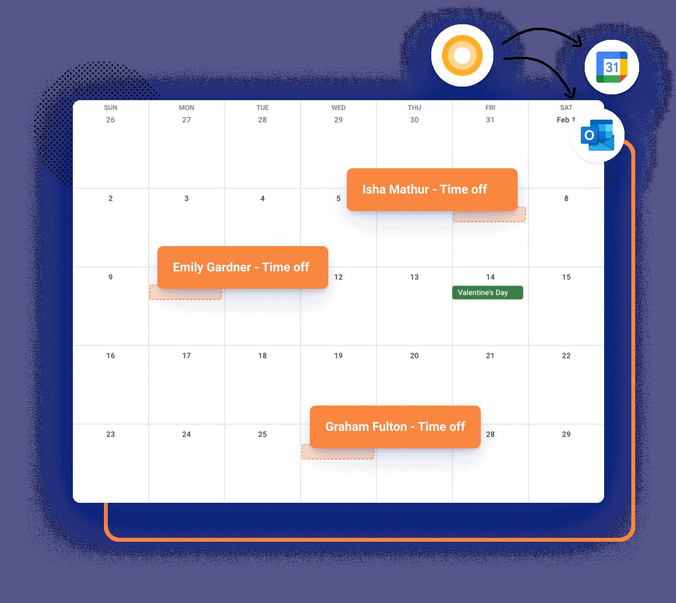 TimeOff Calendar Image5