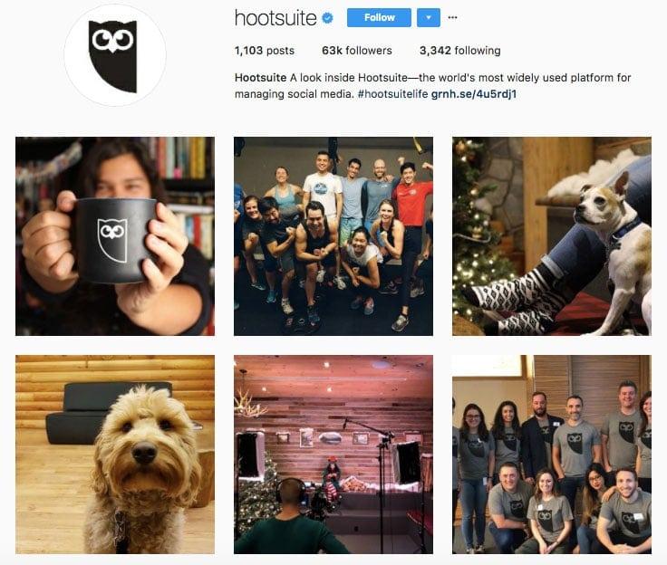 hootsuite instagram branding