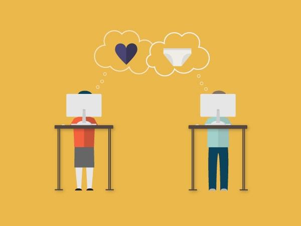 office romance, dating at work, work romance